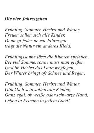 Die Vier Jahreszeiten Gerhard Jürgen Haupt